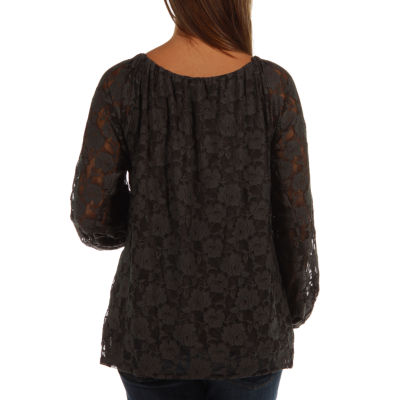 24/7 Comfort Apparel She's So Pretty Tunic Top