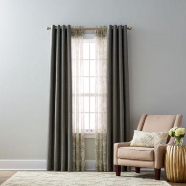 jcpenney.com   Studio McKenna & Royal Velvet Cholet Curtain Panels