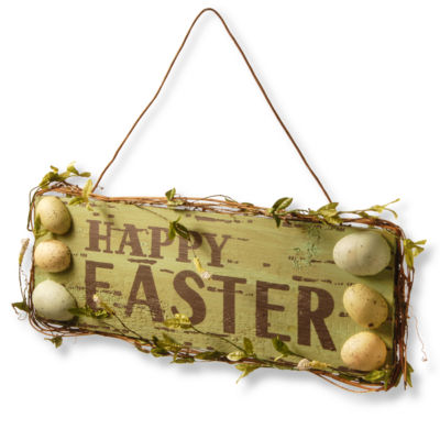 "21"" Easter Welcome Sign"""