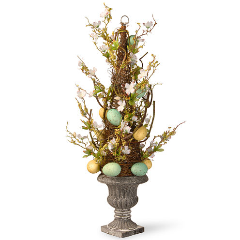 """27"""" Potted Easter Tree"""""""