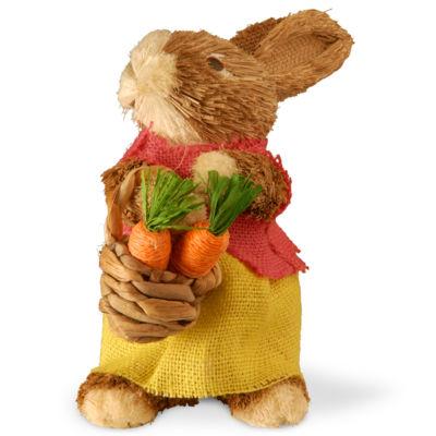 "9"" Dainty Brown Bunny"