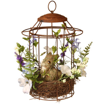 "12"" Easter Bird Cage"""