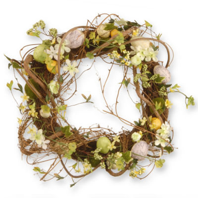 "18"" Easter Eggs Wreath"""