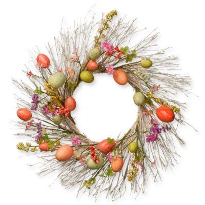 """24"""" Easter Egg Wreath"""""""