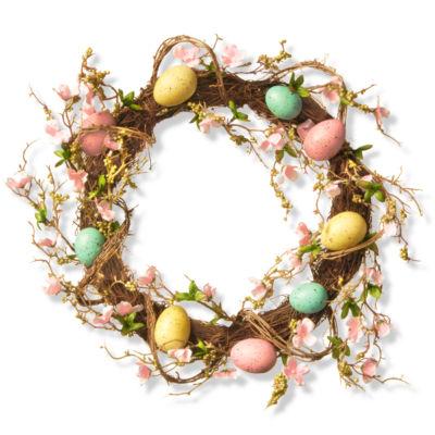 """18"""" Easter Egg Wreath"""""""