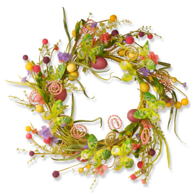 "24"" Garden Accents Easter Wreath"""