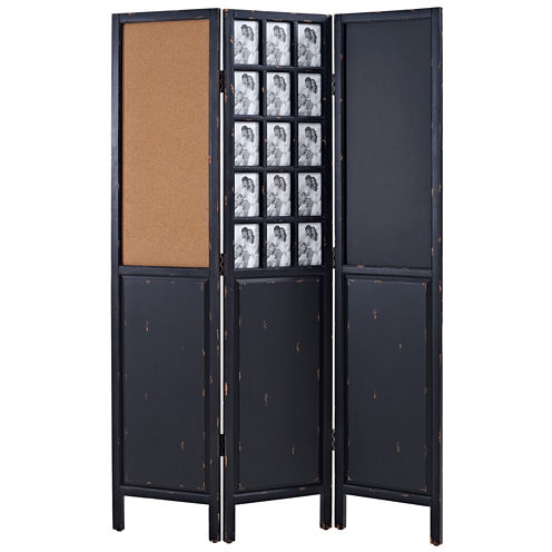 Hillmont Wood Screen With Photo Frame