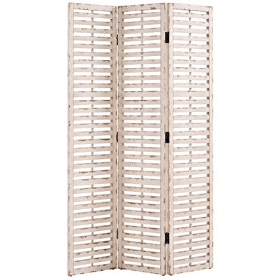 Hogan Slatted Wood Screen