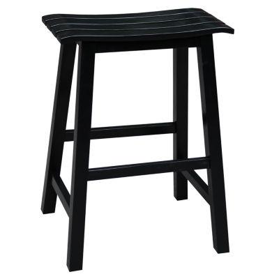 Slat Seat Counter Height Bar Stool