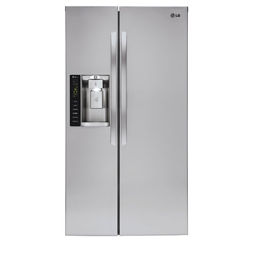 LG ENERGY STAR® 21.9 cu. ft. Ultra Large Capacity Side-By-Side Counter Depth Refrigerator