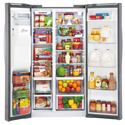 LG ENERGY STAR® 21.9 cu. ft. Smart Wi-Fi Enabled Ultra Large Capacity Side-By-Side Counter Depth Refrigerator