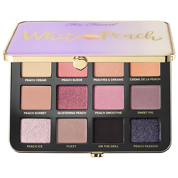 Too Faced White Peach Eye Shadow Palette – Peaches and Cream Collection