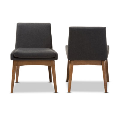 Baxton Studio Nexus 2-Piece Dining Chair Set