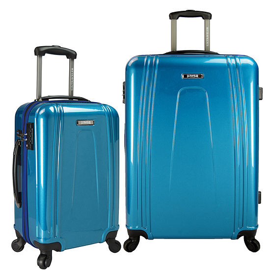 c6f2d15a6 Ezcharge 2-pc. Hardside Luggage Set - JCPenney