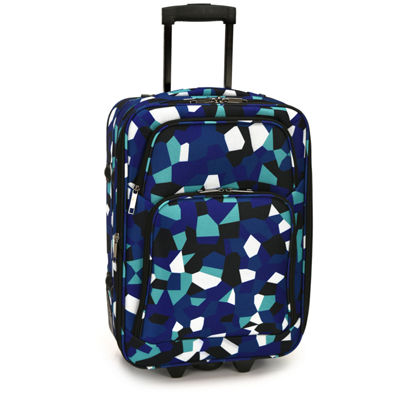 Blue Geo 3-pc. Luggage Set