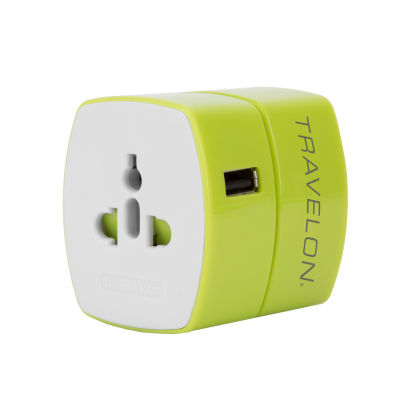 Travelon Universal Adapter with USB Charger