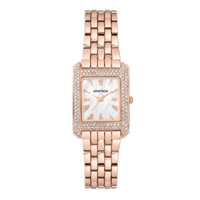 Armitron Womens Rose Goldtone Bracelet Watch-75/5575mprg