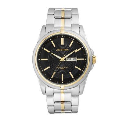 Armitron Mens Two Tone Bracelet Watch-20/5281bktt