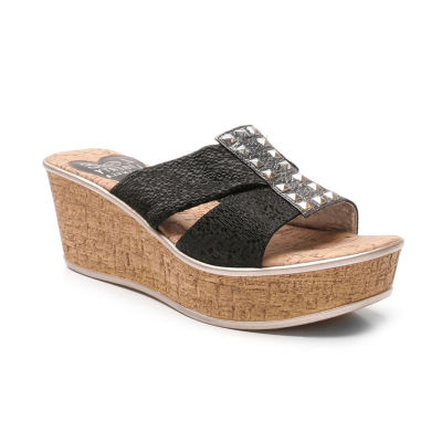 Love And Liberty Nadia Ll Womens Wedge Sandals