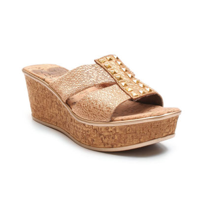 Love And Liberty Nadia Ll Womens Wedge Sandals