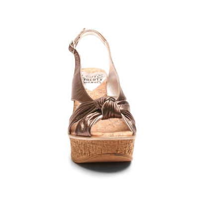 Love And Liberty Audra Ll Womens Wedge Sandals