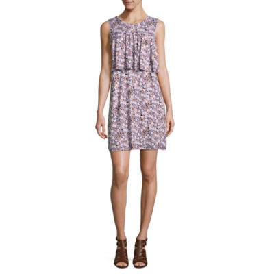 a.n.a Sleeveless Floral A-Line Dress