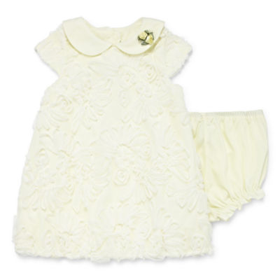 Marmellata Bubble With Panty Short Sleeve Dress - Baby Girls