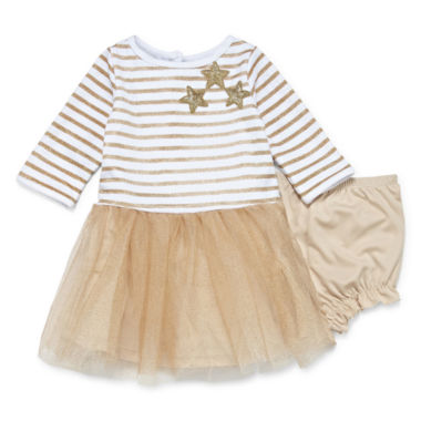 Marmellata Long Sleeve Tutu Dress - Baby Girls