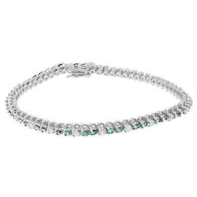 4 1/2 CT. T.W. White Diamond 14K White Gold 7 Inch Tennis Bracelet