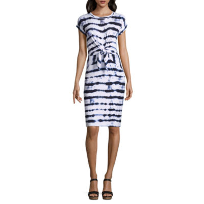 Liz Claiborne Tie Front Dress - Tall