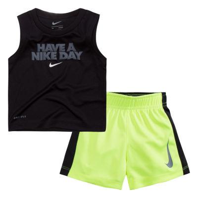 Nike 2-pc. Shorts Set Baby Boys
