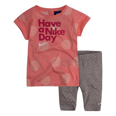 Nike 2-pack Pant Set Baby Girls
