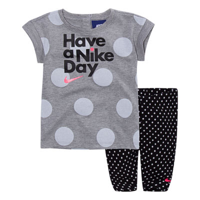 Nike 2-pack Pant Set Baby Girls