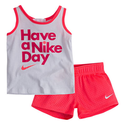 Nike 2-pack Short Set Baby Girls