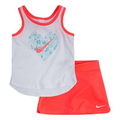 Nike 2-pc. Skort Set Baby Girls
