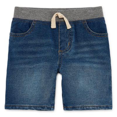 Okie Dokie Denim Shorts - Toddler Boys