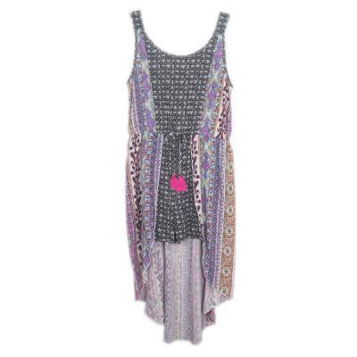 Lilt Sleeveless Pattern Maxi Dress Girls