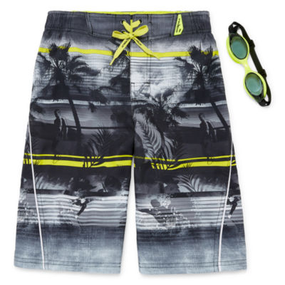 Zeroxposur Palm Beach Swim Trunks - Boys 8-20