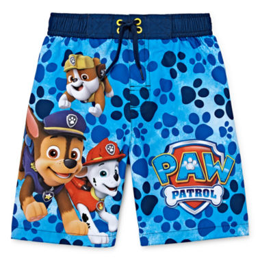 Paw Patrol Swim Trunks - Boys 4-7