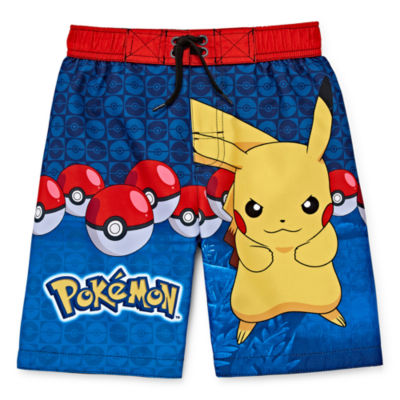 Pokemon Pikachu Swim Trunks - Boys 4-7