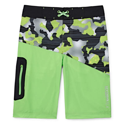 Free Country Camouflage Swim Trunks - Boys 8-20