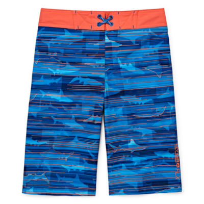 Free Country Shark Swim Trunks - Boys 8-20