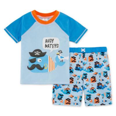 Sol Swim Boys Trunks-Toddler
