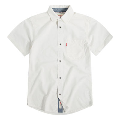 Levi's Short Sleeve Crew Neck T-Shirt-Big Kid Boys