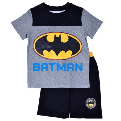 2-pc. Batman Short Set Toddler Boys