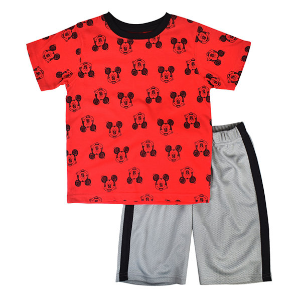 Disney 2-pc. Mickey Mouse Short Set Toddler Boys