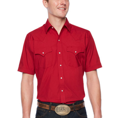Ely Cattleman Short Sleeve Snap-Front Shirt