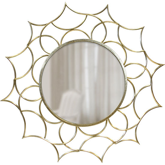 FirsTime Channing Gold Starburst Wall Mirror