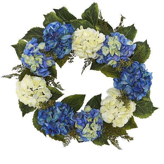 24 Hydrangea Wreath