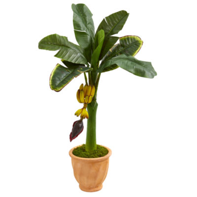 3' Banana Artificial Tree in Terracotta Planter
